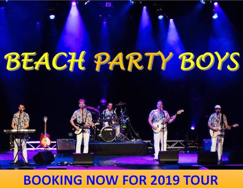 Beach Party Boys 2019 TOUR