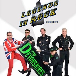 Legends In Rock Concert – The Devonshires
