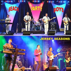 Beach Boys & Four Seasons – Beach Party Boys & the Jersey Seasons