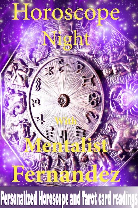 hypo-purple gradient horoscope night
