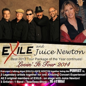 Exile with Juice Newton