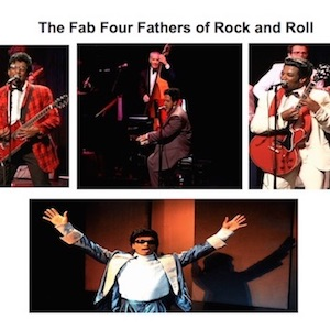 Chuck Berry, Little Richard, Fats Domino & Bo Diddley – The Fab Four Fathers of Rock and Roll