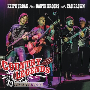 Country Legends – Keith Urban, Garth Brooks & The Zac Brown Band