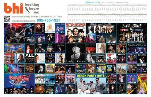 BHI calendar